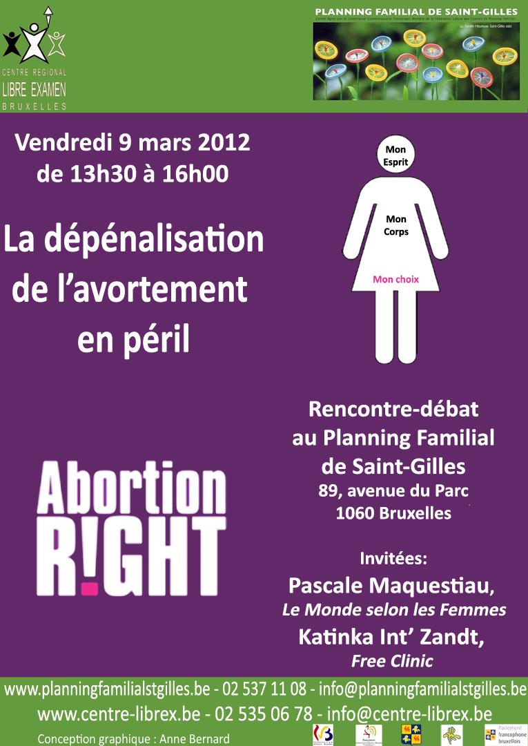 9 3 2012 rencontre d bat la d p nalisation de l avortement en p ril centre r gional du. Black Bedroom Furniture Sets. Home Design Ideas